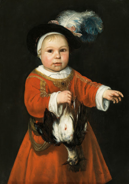 Альберт Кёйп - Маленькая охотница. 1650-е