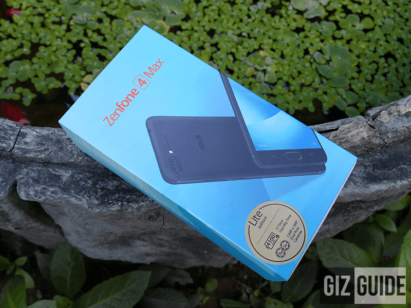 ASUS ZenFone 4 Max Lite Unboxing and First Impressions