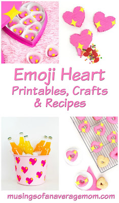Emoji Heart Crafts