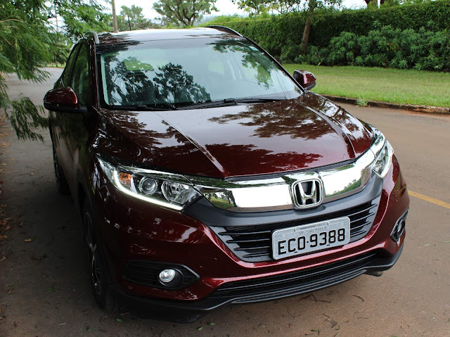 Novo Honda HR-V 2019 EXL