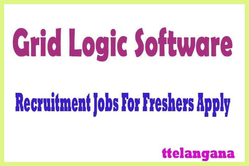 Grid Logic Software Recruitment  Jobs For Freshers Apply