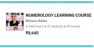 full course pof numerlogy