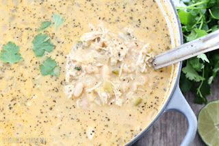 queso white chili