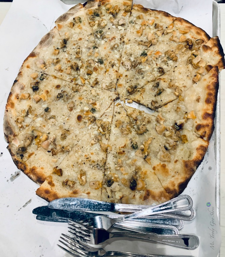 Frank Pepe's White Clam Pizza in New Haven, CT | Ms. Toody Goo Shoes