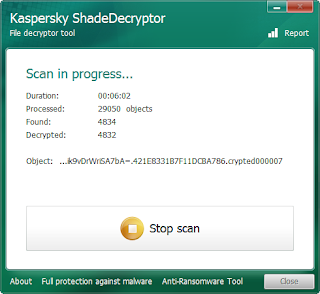 Kaspersky Released A Ransoware Decryptor