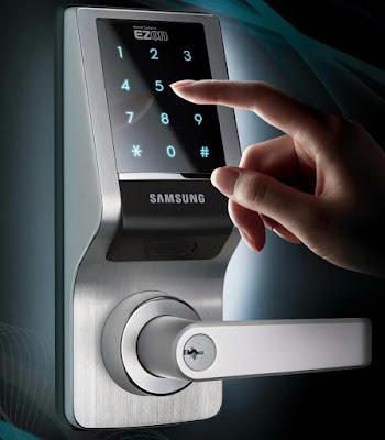 Công nghệ tiên tiến nhất cho khóa điện tử vân tay samsung