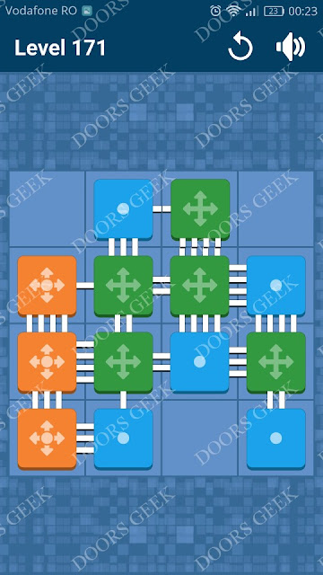Connect Me - Logic Puzzle Level 171 Solution, Cheats, Walkthrough for android, iphone, ipad and ipod