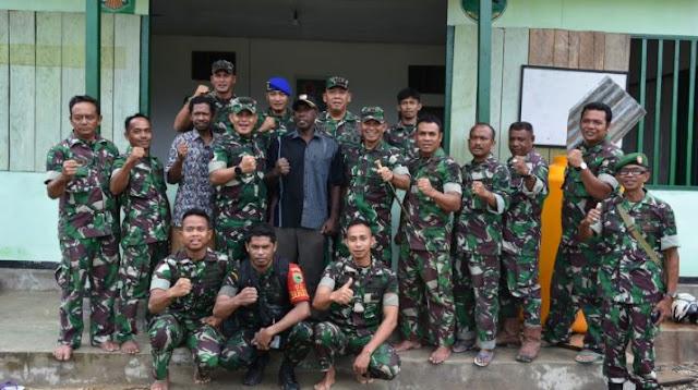 Susanto Dwi Asmara dan Arif Budiman Tinjau Lokasi TMMD ke 107 di Kodim Fakfak