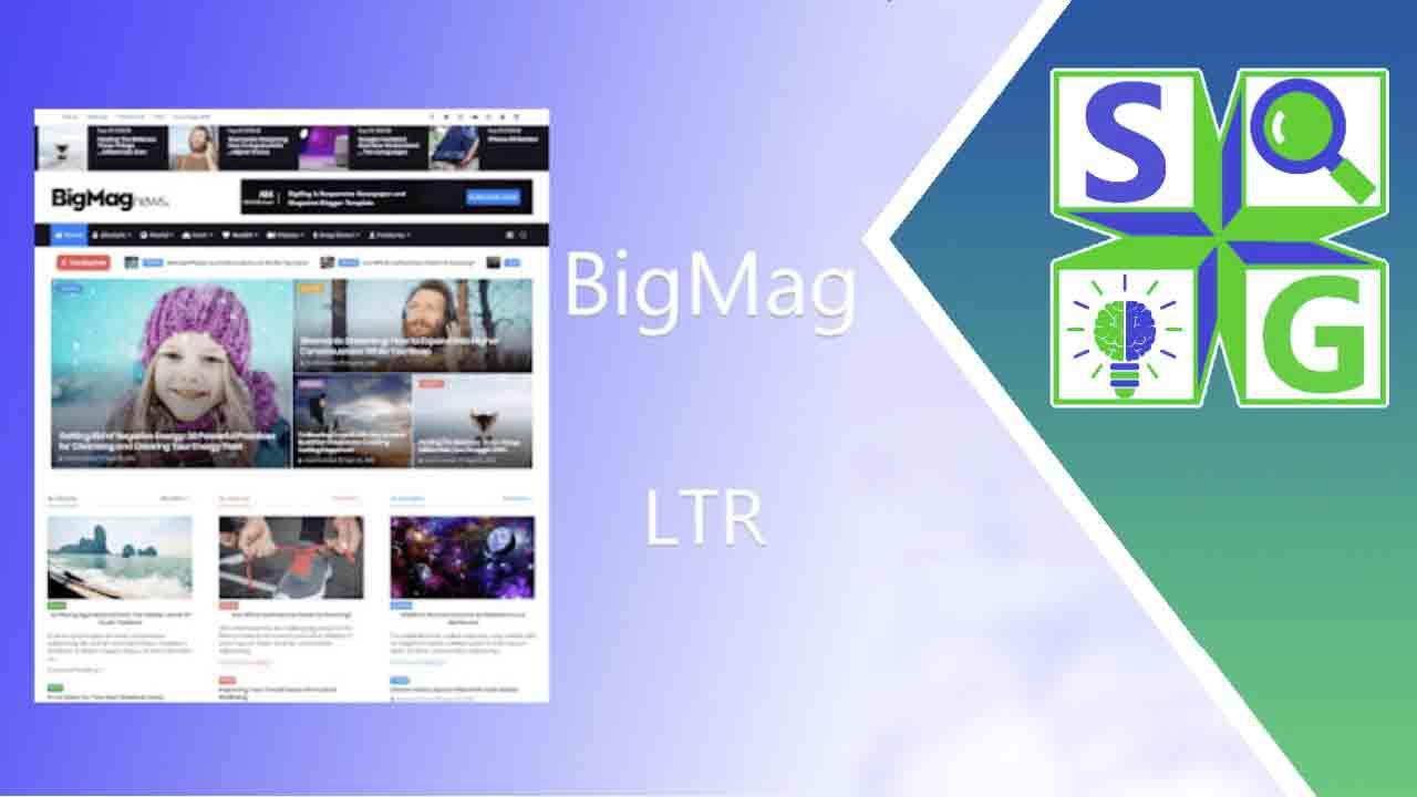 قالب بيج ماج BigMag أجنبي باللغة الإنجليزية النسخة الأخيرة  English Version 2021