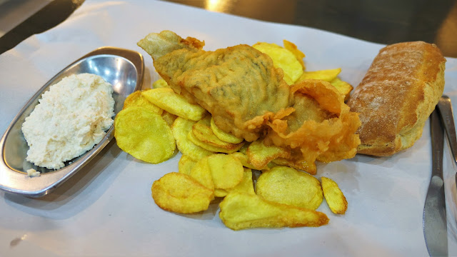 塞薩洛尼基餐廳Mpakaliarakia tou Aristou - Fish and chips