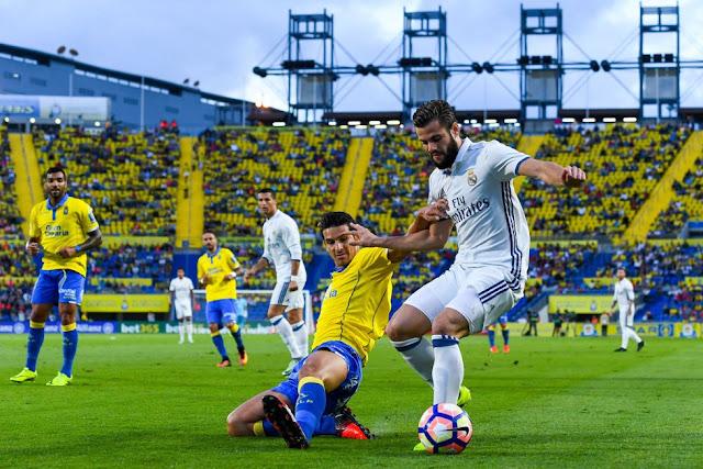 Real Madrid Nacho Las Palmas