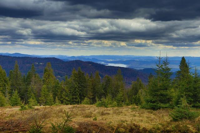 Widok z Wisielakówki na południowy wschód