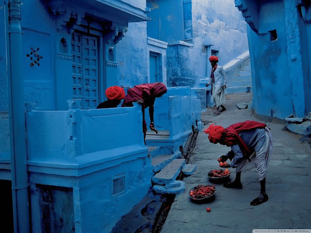 The Blues of Jodhpur, Rajasthan