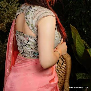 blouse design for cotton saree images