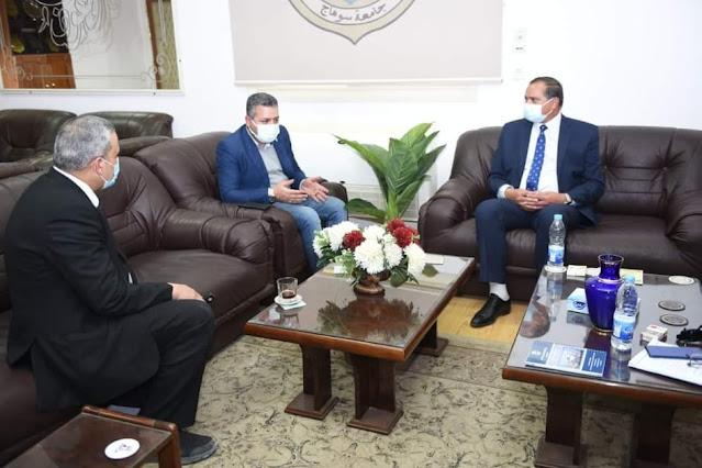 صندوق تحيا مصر يدعم مستشفى سوهاج الجامعي الجديدة بالأجهزة والمعدات الطبية المطلوبة
