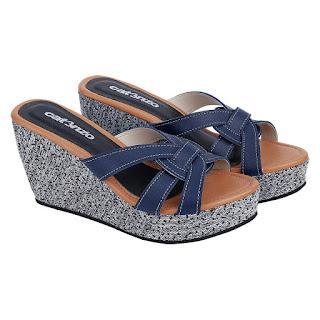 Sandal Wedges Wanita Catenzo SS 029