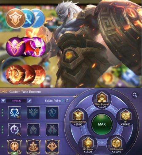 baxia mobile legends build item emblem combo
