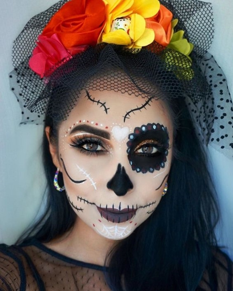 Make caveira mexicanda
