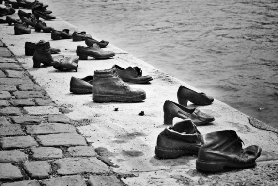 Shoes on the Bank of Danube River Budapest Travel Blog Guide - Travel Budapest with Chasing Whereabouts