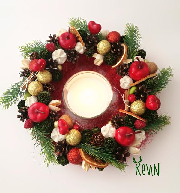 Kevin - wianek świąteczny
