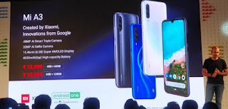 Xiaomi Mi A3 launched - here are its features and specs