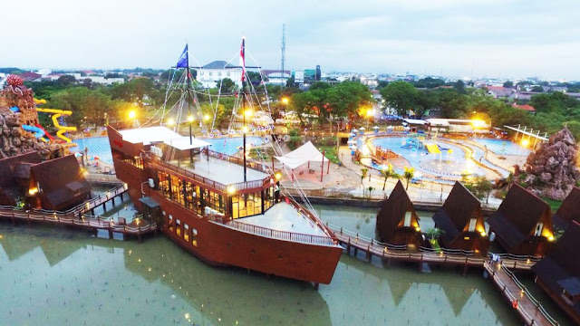Tiket masuk Cirebon Waterland