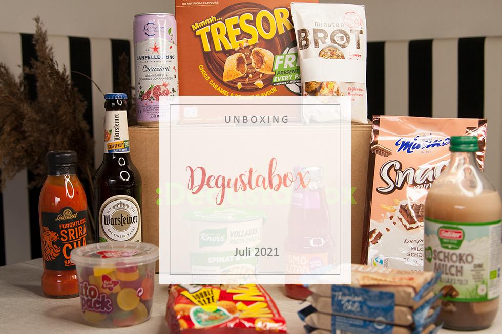 Degusta Box - Juli 2021 - unboxing