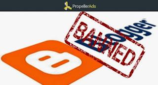 PropellerAds banea Blogspot