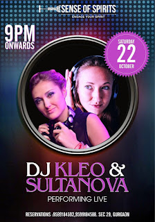 DJ Kleo & Sultanova Performing Live @ Sense of Spirits