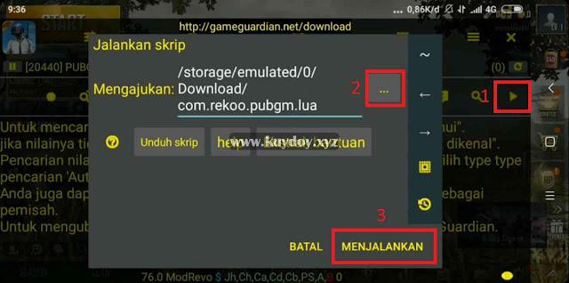 Cara Cit PUBG Mobile v0.12.0 Terbaru