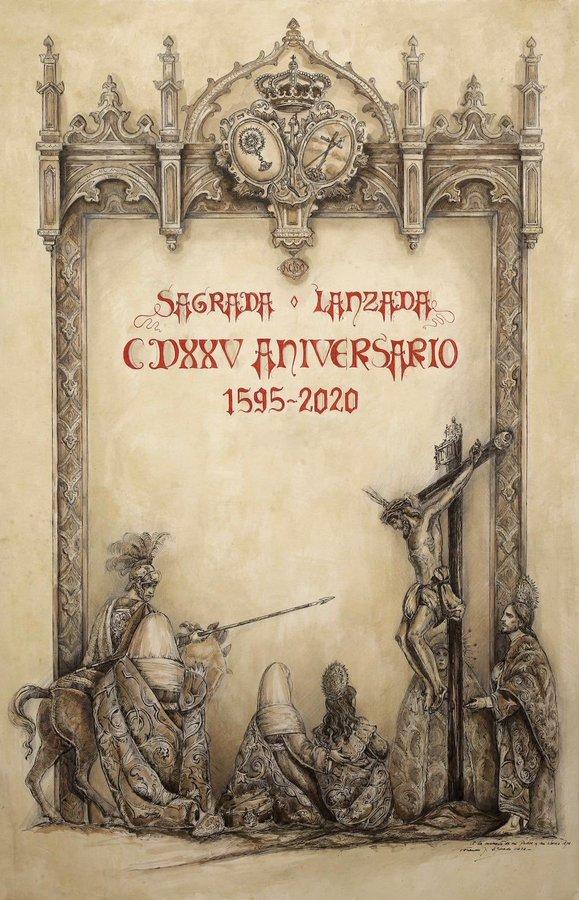 Presentación del Cartel del 425 aniversario de la Hermandad de la Lanzada de Sevilla