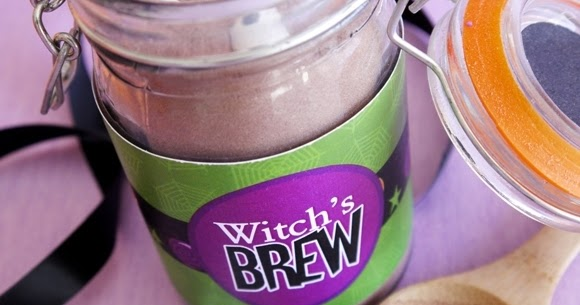 Pumpkin Spice Halloween Witch's Brew Hot Cocoa Mix | Party Ideas ...