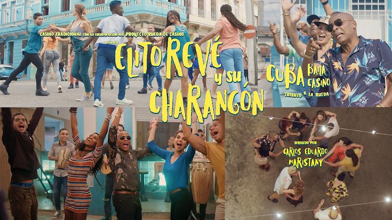 Elito Revé y su Charangón - ¨Cuba Baila Casino (Tributo a la Rueda)¨ - Videoclip - Director: Carlos Eduardo Maristany. Portal Del Vídeo Clip Cubano