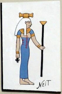 DEUSA NEIT SÍMBOLOS DA MITOLOGIA EGÍPCIA