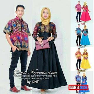Model Baju Couple Batik Bali