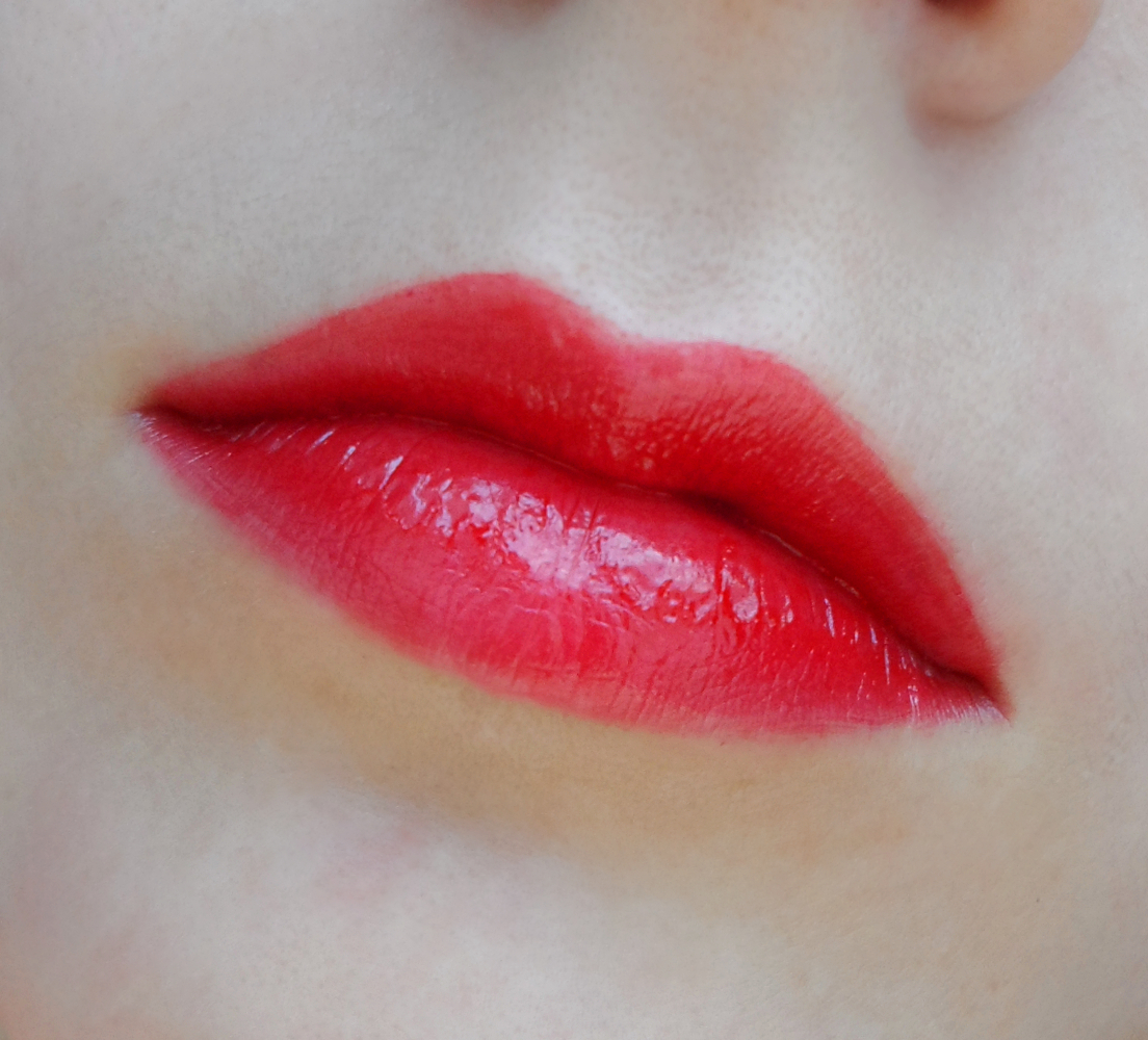 perfect red lips step by step tutorial