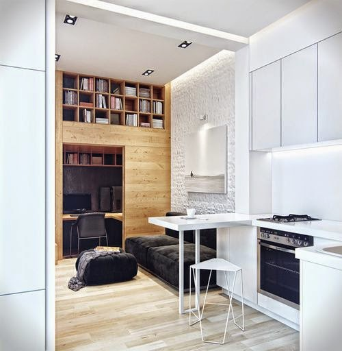 meubler une petite cuisine