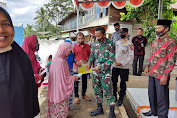 Kpt Inf Agussari Kembali Dampingi Penyaluran BLT-DD Tahap II