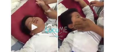Bocah Laki-laki Ini 'Berakting' Saat Mau Disunat, Kocak Campur Ngeselin Banget!