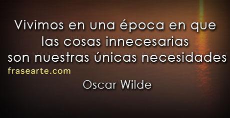 Oscar Wilde - frases para la vida