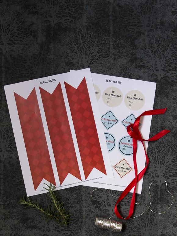 El gato goloso: free printables / imprimibles gratis para navidad