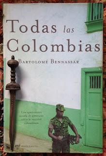 Portada del libro Todas las Colombias, de Bartolomé Bennassar