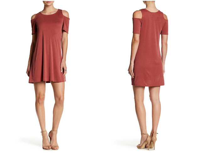 Spirit of Grace Cold Shoulder Dress $12 (reg $48)