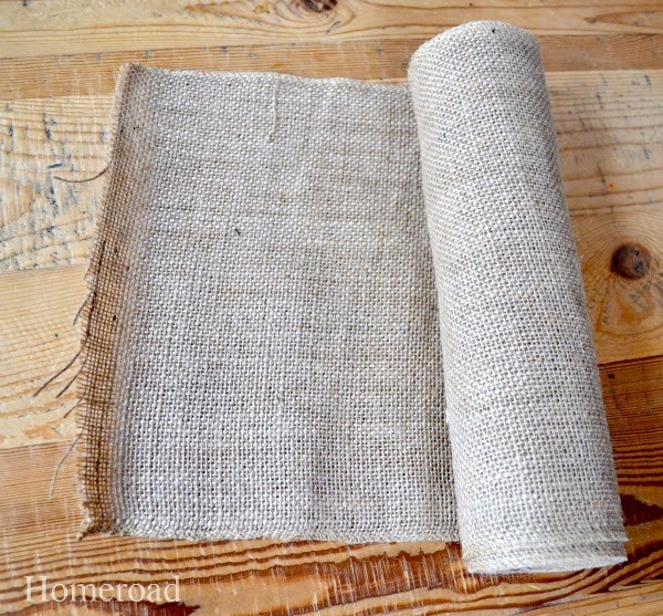 roll of burlap
