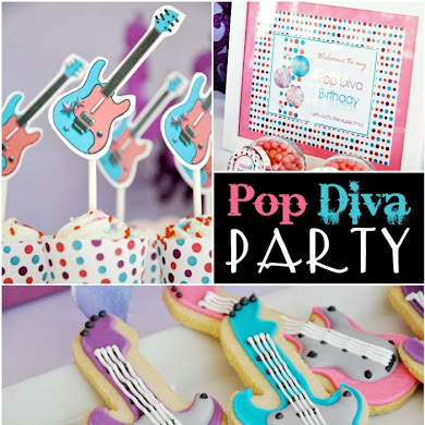 A Superstar Pop Diva Birthday Party