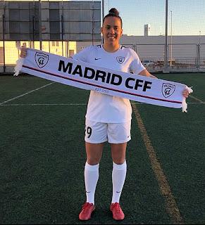 Fútbol Femenino Aranjuez Laura Ortega