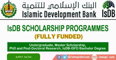 IsDB Scholarship