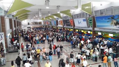 La llegada de turistas cayó un 4.2% en RD