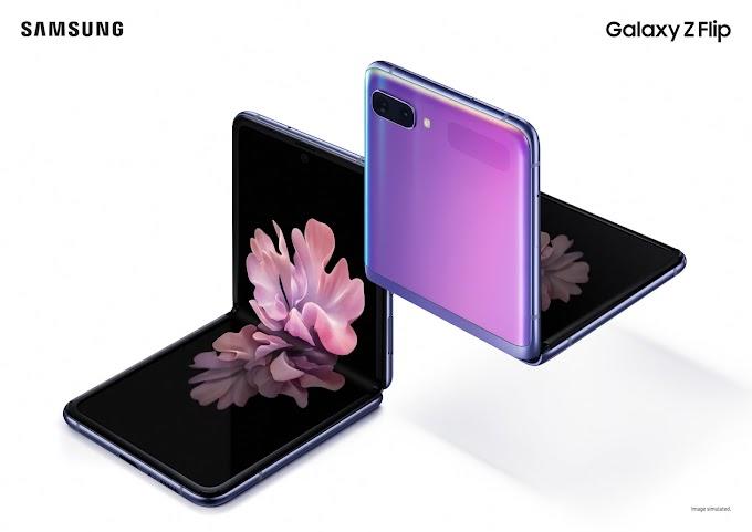 Flagship Samsung Galaxy Z Flip Phone Price Specification
