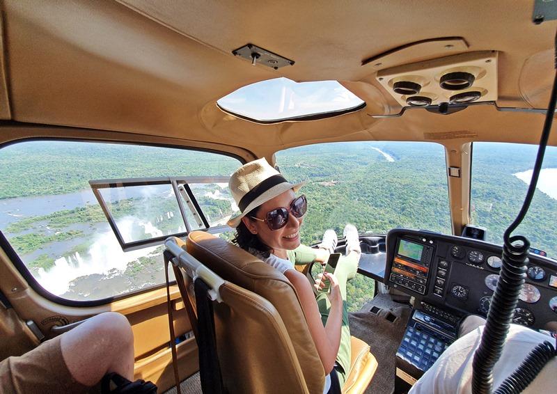 Passeio de helicóptero Cataras do Iguaçu